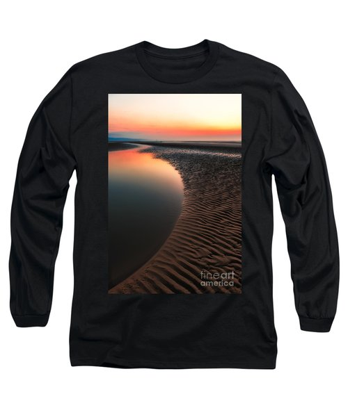 Seascape Sunset Long Sleeve T-Shirt