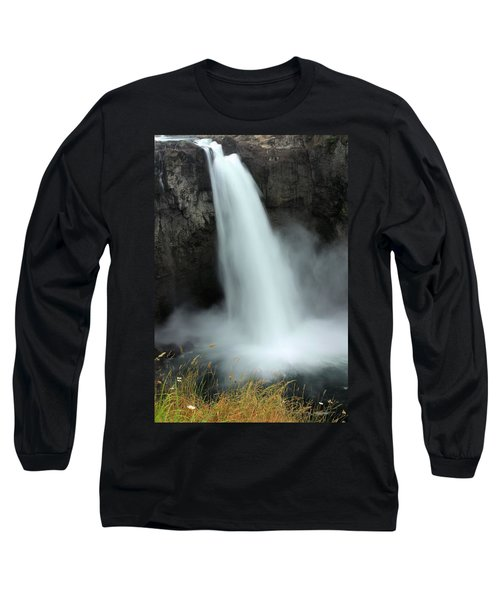 Snoqualmie Falls Long Sleeve T-Shirt