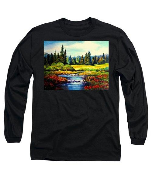 Springtime Long Sleeve T-Shirt by Hazel Holland