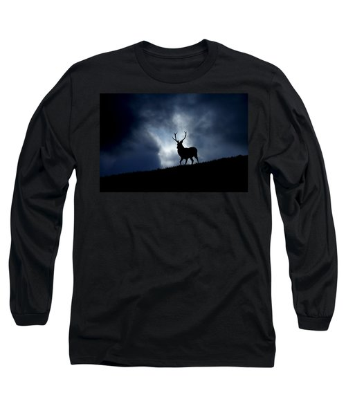 Stag Silhouette Long Sleeve T-Shirt