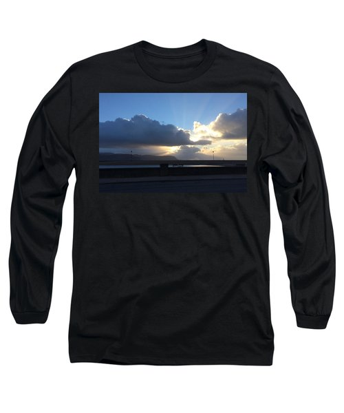 Sunbeams Over Conwy Long Sleeve T-Shirt