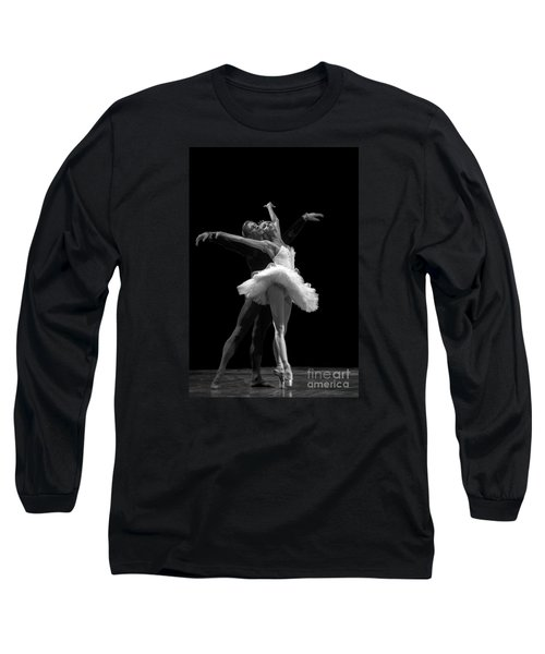 Swan Lake  White Adagio  Russia 3 Long Sleeve T-Shirt by Clare Bambers