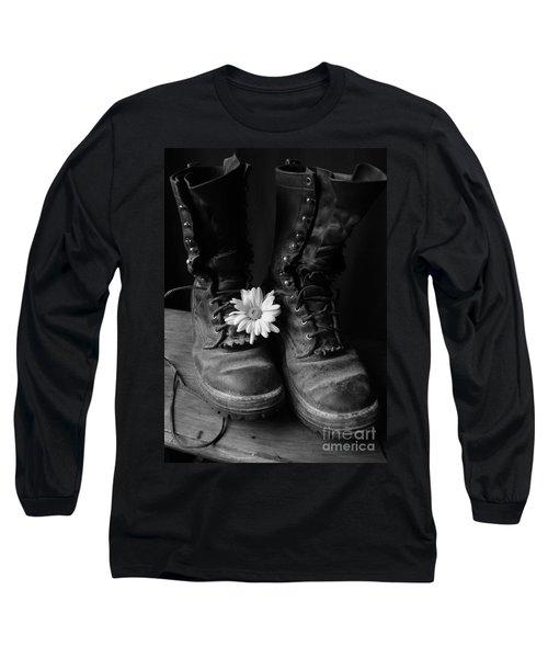 Sweat And Fire Worn Long Sleeve T-Shirt