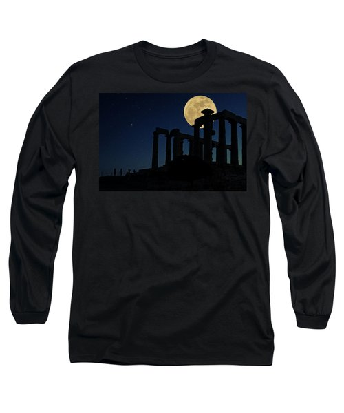 Temple Of Poseidon  Long Sleeve T-Shirt