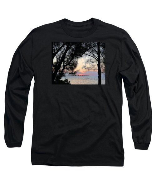 Long Sleeve T-Shirt featuring the photograph Tequila Sunrise by Amar Sheow