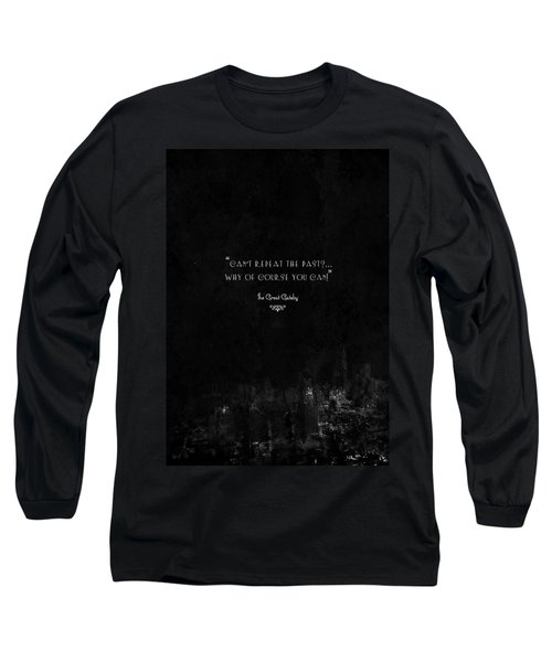 The Great Gatsby Long Sleeve T-Shirt