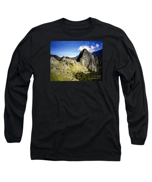 Long Sleeve T-Shirt featuring the photograph The Lost City by Suzanne Luft
