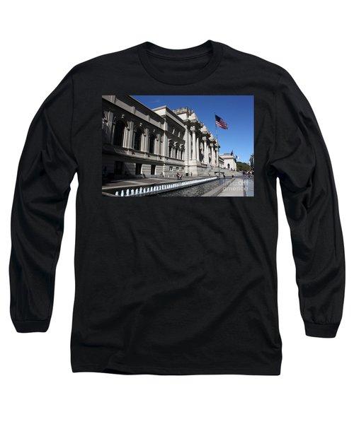 The Met Long Sleeve T-Shirt by David Bearden