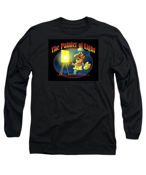 The Painter Of Light Long Sleeve T-Shirt by Scott Ross