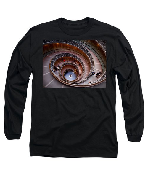 The Vatican Stairs Long Sleeve T-Shirt