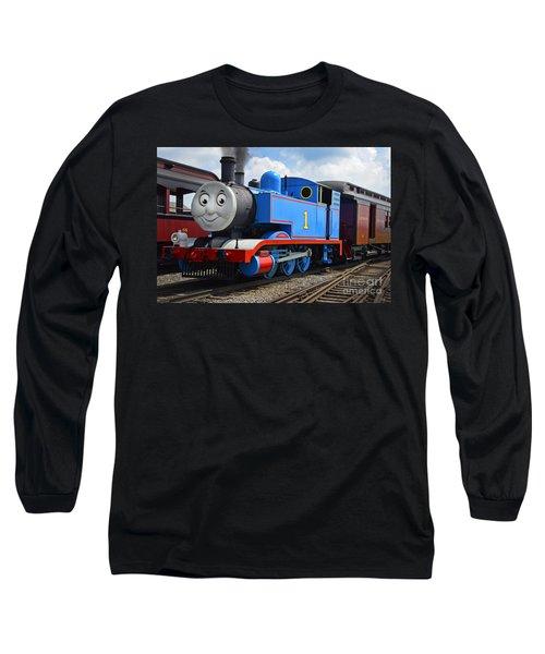 Thomas The Engine Long Sleeve T-Shirt