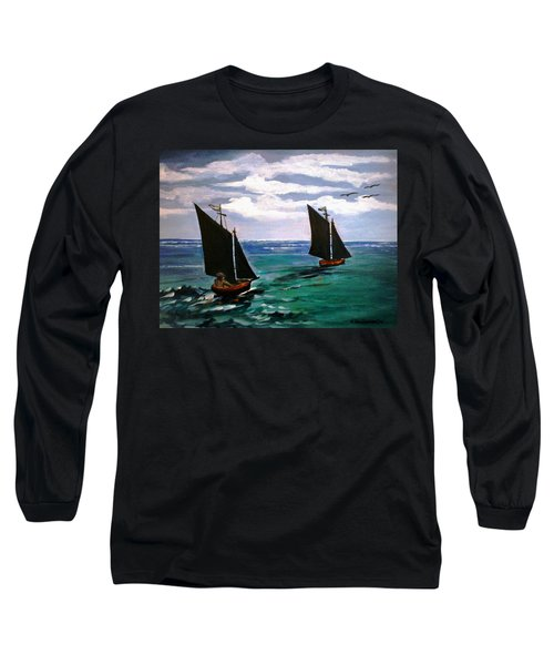 Travelling Long Sleeve T-Shirt