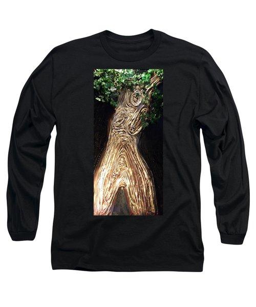 Tree Goddess Long Sleeve T-Shirt