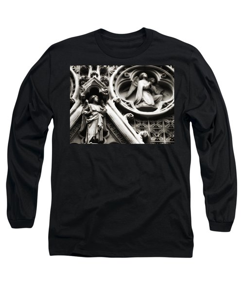 Truro Cathedral Long Sleeve T-Shirt by Rachel Mirror