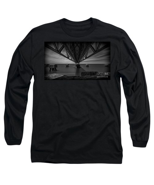 Under The Pier Long Sleeve T-Shirt by James Dean