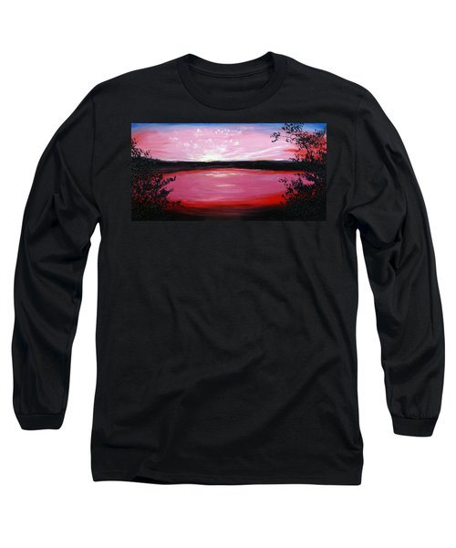 Long Sleeve T-Shirt featuring the painting Vanquished by Meaghan Troup
