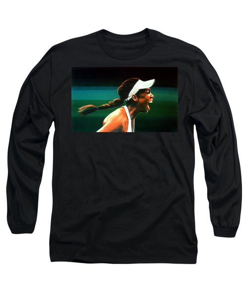 Venus Williams Long Sleeve T-Shirt by Paul Meijering