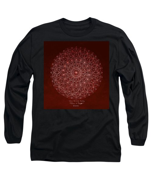 Wave Particle Duality Long Sleeve T-Shirt