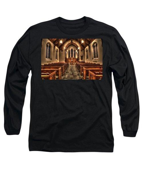 Westminster Presbyterian Church Long Sleeve T-Shirt by Amanda Stadther