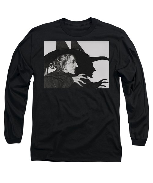 Wicked Witch Of The West Long Sleeve T-Shirt by Fred Larucci