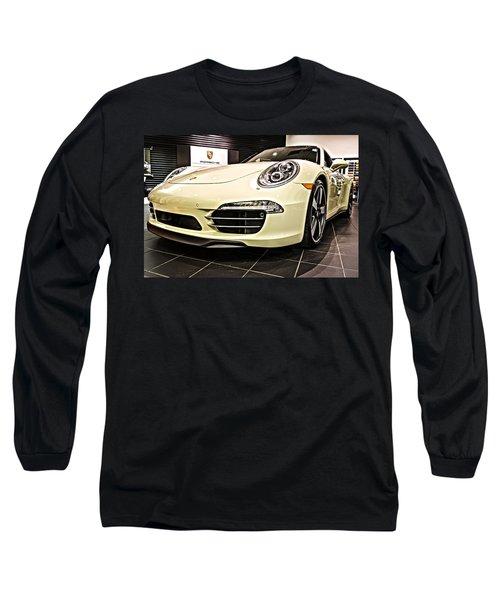 2014 Porsche 911 50th Front Long Sleeve T-Shirt