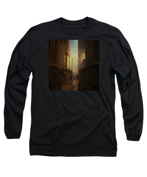 2146 Long Sleeve T-Shirt by Michal Karcz