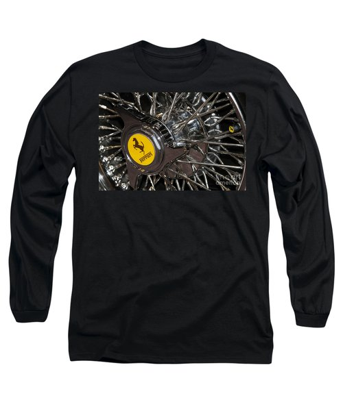 250 Wheel Long Sleeve T-Shirt by Dennis Hedberg