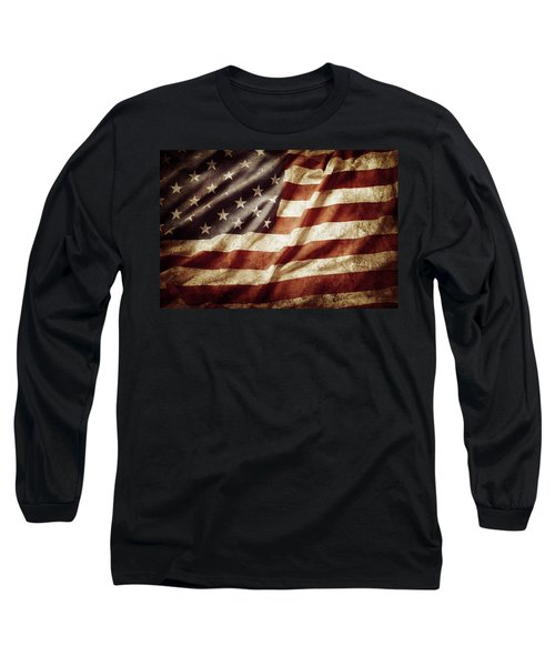 American Flag 53 Long Sleeve T-Shirt