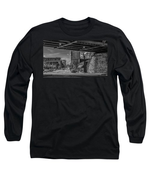 Long Sleeve T-Shirt featuring the photograph 2nd Street by Ray Congrove