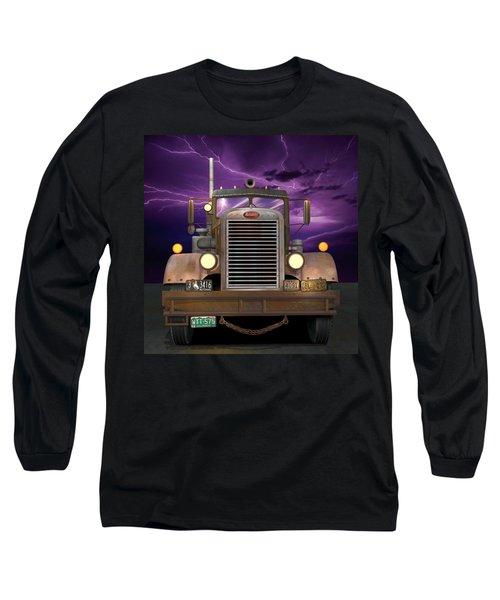 1955 Peterbilt Long Sleeve T-Shirt
