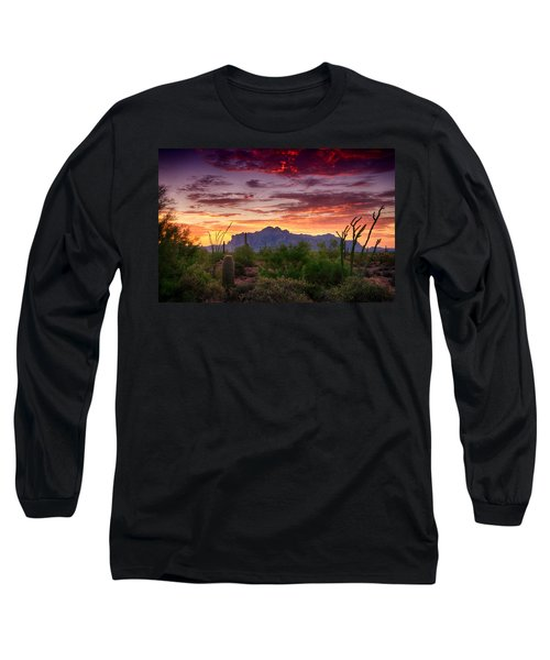 A Superstition Sunrise  Long Sleeve T-Shirt
