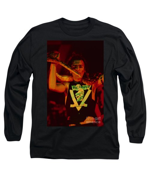 Alice Cooper At The Concord Pavillion Long Sleeve T-Shirt