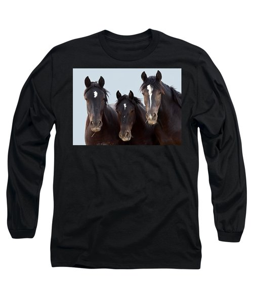3 Amigos Wild Mustang Long Sleeve T-Shirt