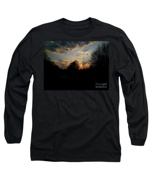 Beauty In The Sky Long Sleeve T-Shirt by Kelly Awad