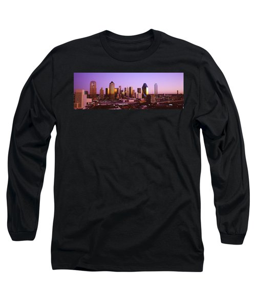 Dallas, Texas, Usa Long Sleeve T-Shirt by Panoramic Images