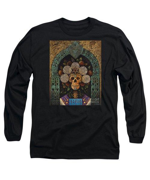 Dia De Muertos Madonna Long Sleeve T-Shirt