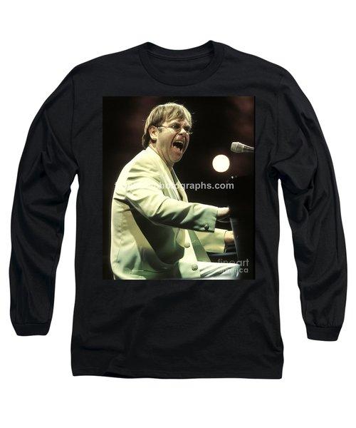 Elton John Long Sleeve T-Shirt by Concert Photos