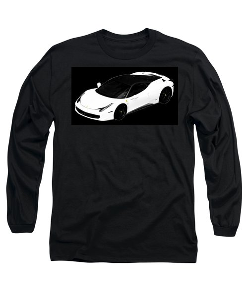 Long Sleeve T-Shirt featuring the photograph Ferrari by J Anthony