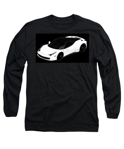 Ferrari Long Sleeve T-Shirt by J Anthony