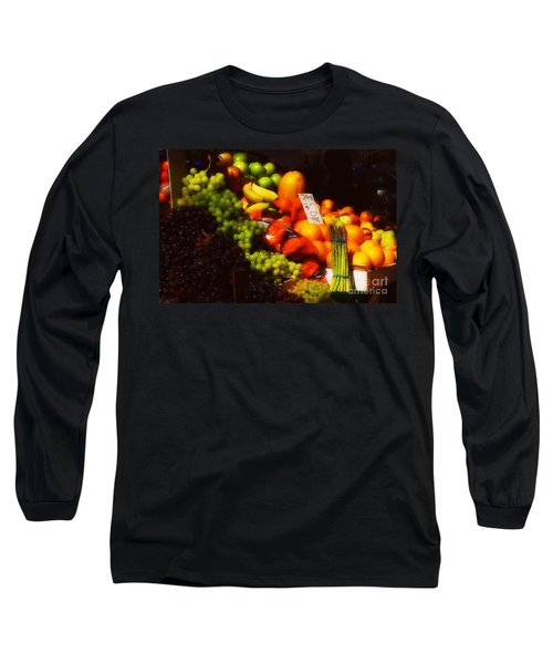Long Sleeve T-Shirt featuring the photograph 3 For 2 Dollars by Miriam Danar