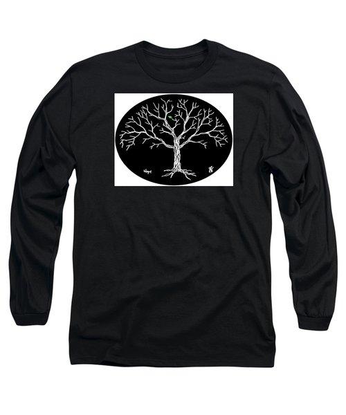 Hope Long Sleeve T-Shirt by Jim Harris