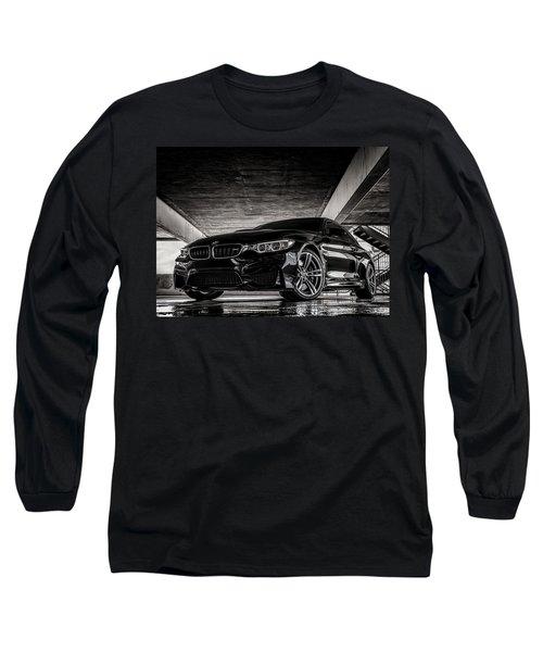 I Take Mine Black Long Sleeve T-Shirt by Douglas Pittman