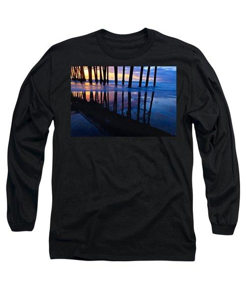 Oceanside Pier At Sunset Long Sleeve T-Shirt
