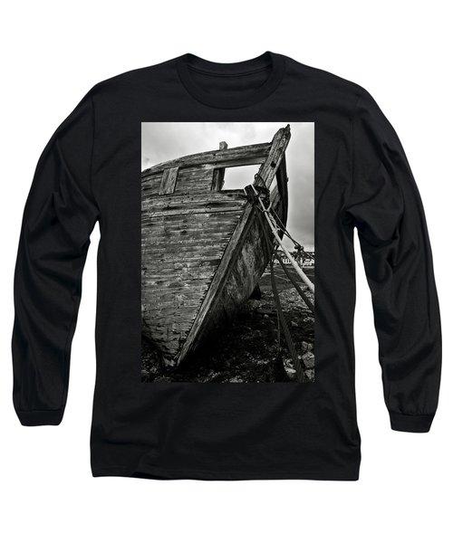 Old Abandoned Ship Long Sleeve T-Shirt