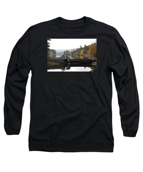 Pine River Pond  Long Sleeve T-Shirt