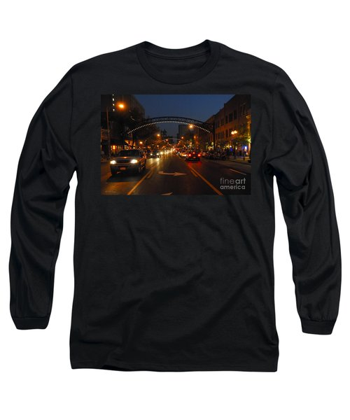 D8l-152 Short North Gallery Hop Photo Long Sleeve T-Shirt