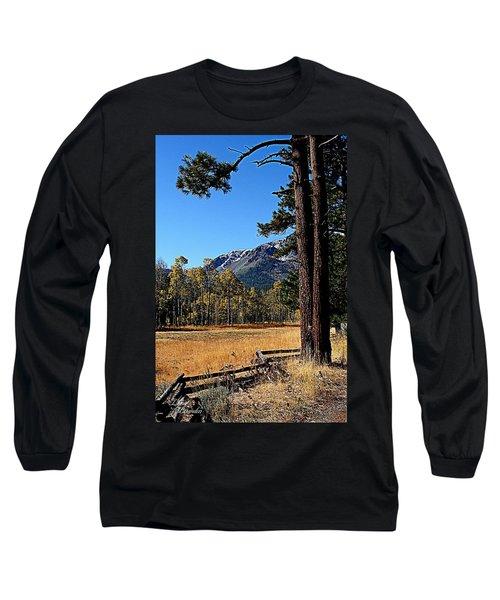 Split Rail Fence Long Sleeve T-Shirt
