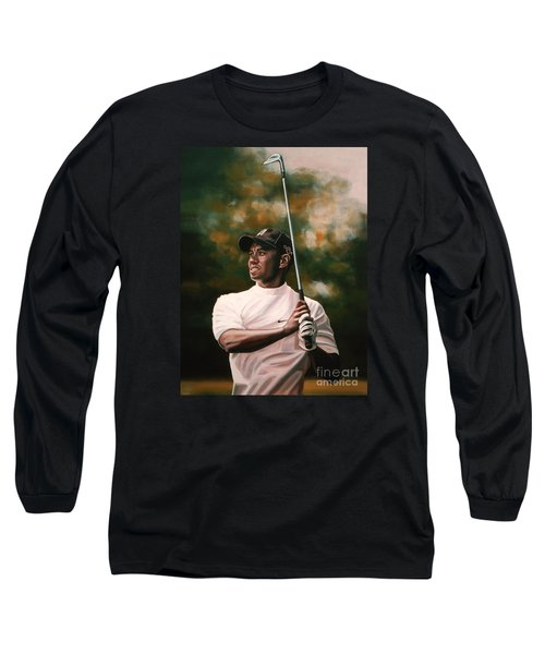 Tiger Woods  Long Sleeve T-Shirt