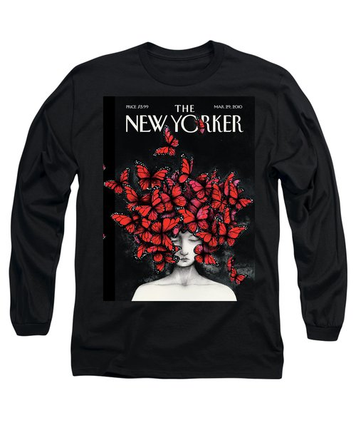 New Yorker March 29th, 2010 Long Sleeve T-Shirt