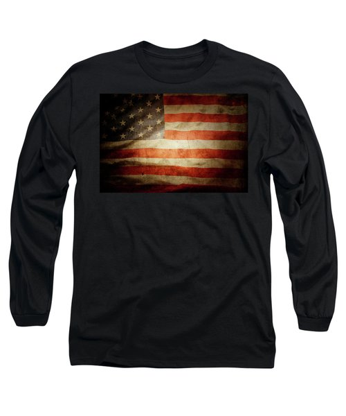 American Flag 48 Long Sleeve T-Shirt